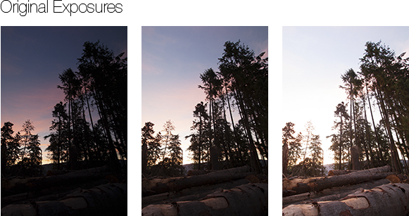 HDR Exposures