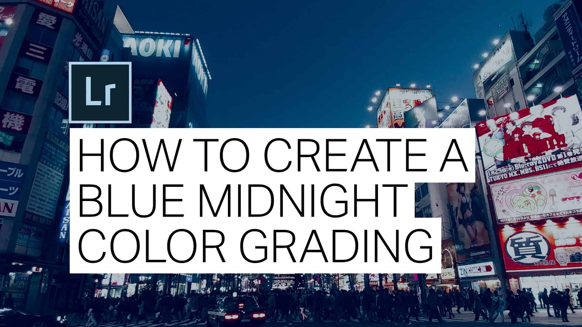 How to Create a Twilight Blue Effect in Lightroom