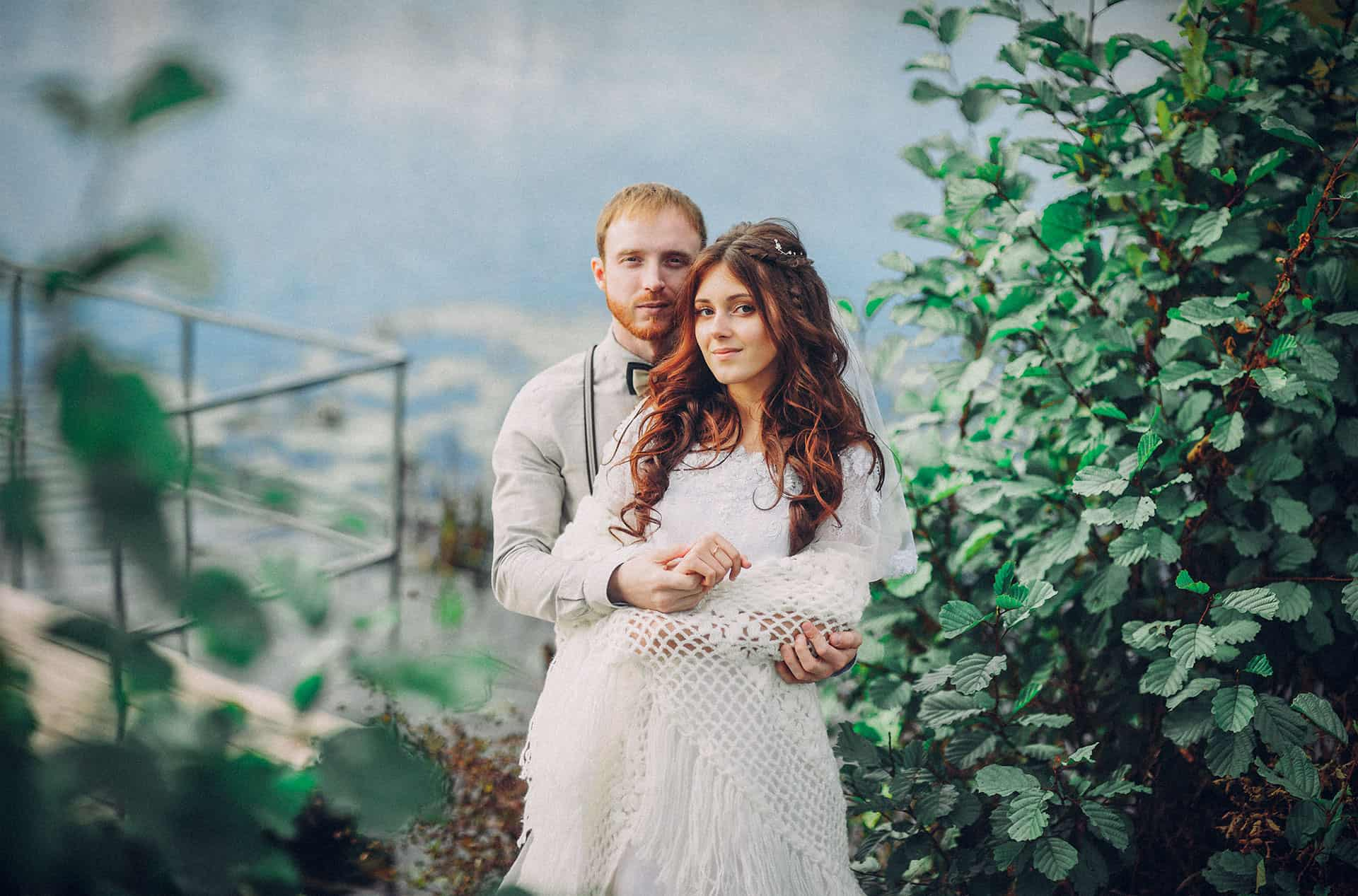 How to Create a Film Look for Weddings in Lightroom
